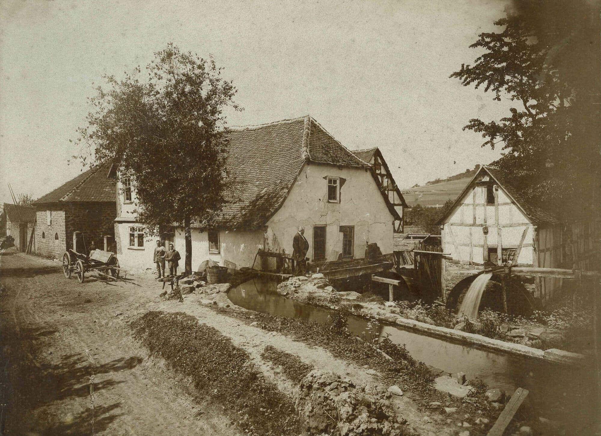 Stockmühle in Eichelsdorf um 1897